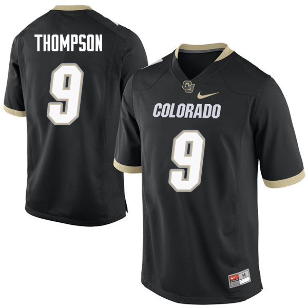 Men #9 Tedric Thompson Colorado Buffaloes College Football Jerseys Sale-Black
