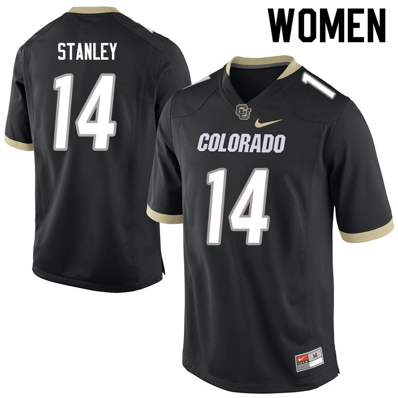 Women #14 Dimitri Stanley Colorado Buffaloes College Football Jerseys Sale-Black